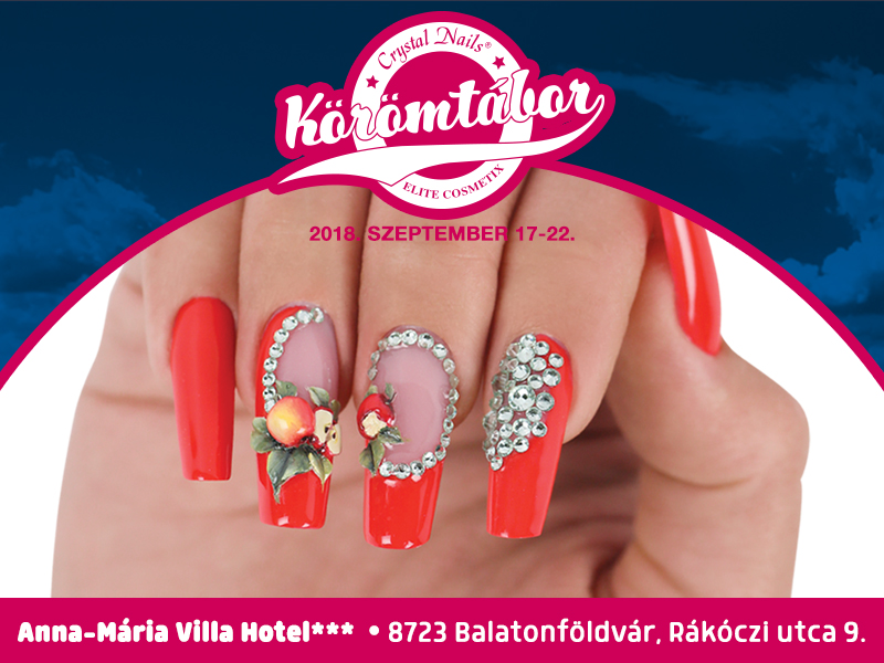 Crystal Nails Körömtábor 2018.