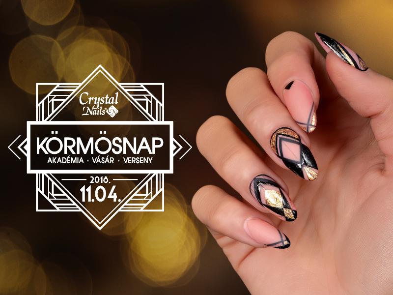 Crystal Nails Körmösnap 2018. Tél