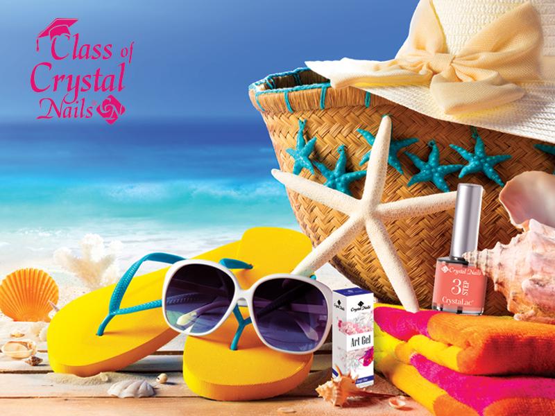 13+1 Crystal Nails tipp a forró nyári napokra!