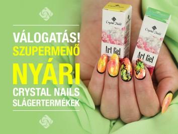 Szupermenő nyári Crystal Nails válogatás
