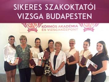 Sikeres Szakoktatói tanfolyam Budapesten