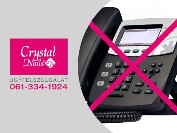 Ügyfélszolgálati telefonszámunk átmeneti ideig nem elérhető