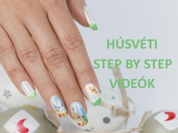 Húsvéti step by step videók