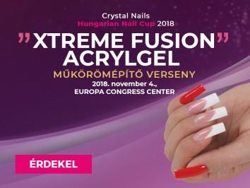 Crystal Nails Körmösnap - Xtreme Fusion AcrylGel műkörömépítő verseny