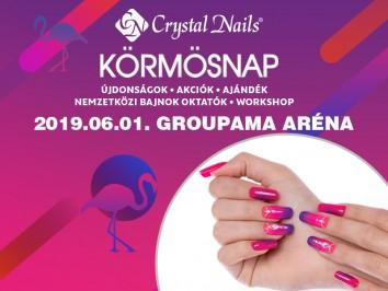 Crystal Nails Körmösnap 2019. nyár beszámoló