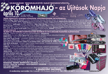 Nailpro - Körömhajó 2010 tavasz - 2010-02-10