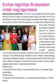 Nailpro - Crystal European Nail Cup 2010 - 2010-08-19