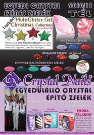Nailpro - Egyedi Crystal színes zselék - 2010-12-03