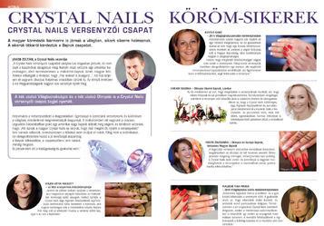 Szépvilág Extra - Crystal Nails köröm-sikerek