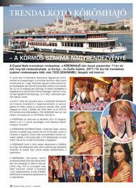 Szépvilág Extra - KÖRÖMHAJÓ beszámoló - 2011 ősz
