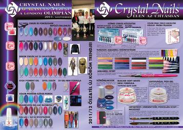 Nailpro - Crystal Nails 6 arany és 5 ezüst a londoni Olimpián