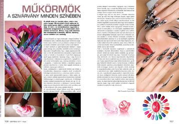 Szépítész - Műkörmök a szivárvány minden szín - 2011-06-03