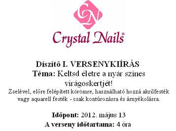 Hungarian Nail Cup - Díszítő I.