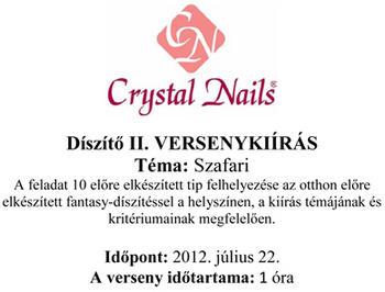 European Nail Cup - Díszítő II.