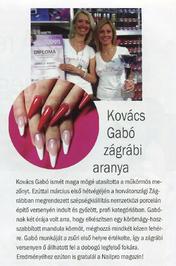 Nailpro - Kovács Gabó zágrábi aranya
