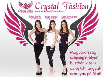 Légy királynő te is a Crystal Fashion kollekció legújabb pólóiban!