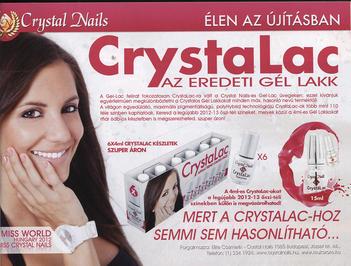 Szépítész - A CrystaLac az igazi gél lakk