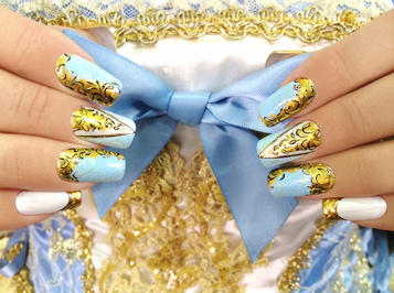 INTERNAILCHARM MOSCOW: Crystal Nails érmek Oroszországból
