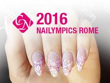 Nailympics Rome 2016: olasz Crystal Nails sikerbomba robbant Rómában