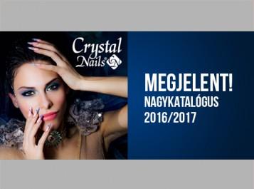 Megjelent! Crystal Nails NAGYKATALÓGUS 2016/2017