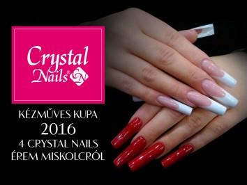 Kézműves Kupa 2016: 4 Crystal Nails érem Miskolcról!