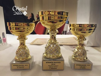 Tarolt a Crystal Nails a vasárnapi, budapesti körmös versenyen!