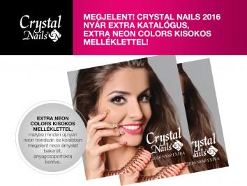 MEGJELENT! Crystal Nails 2016 Nyár Extra katalógusa!