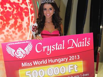 Szépségkirálynő: Rákosi Annamária lett Miss Crystal Nails