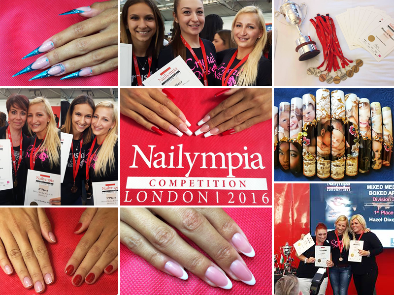 CRYSTAL NAILS ARANYESŐ ÉS WINNER OF WINNERS KUPA A LONDONI NAILYMPIA-N!