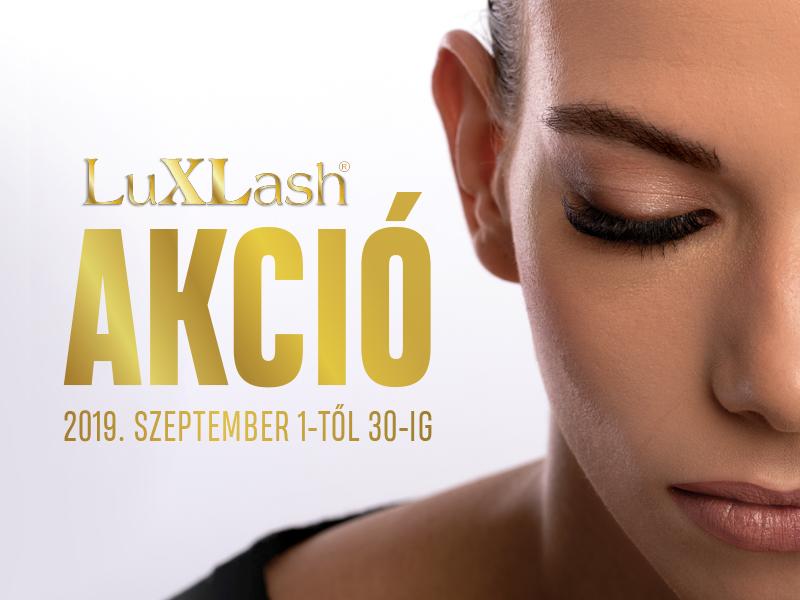 Szeptemberi LuxLash akció