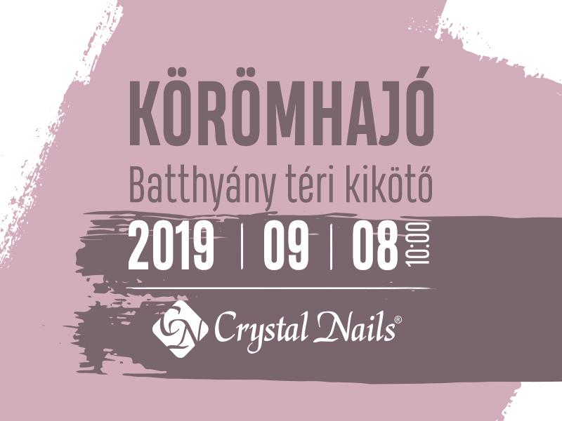 Crystal Nails Körömhajó 2019. ősz