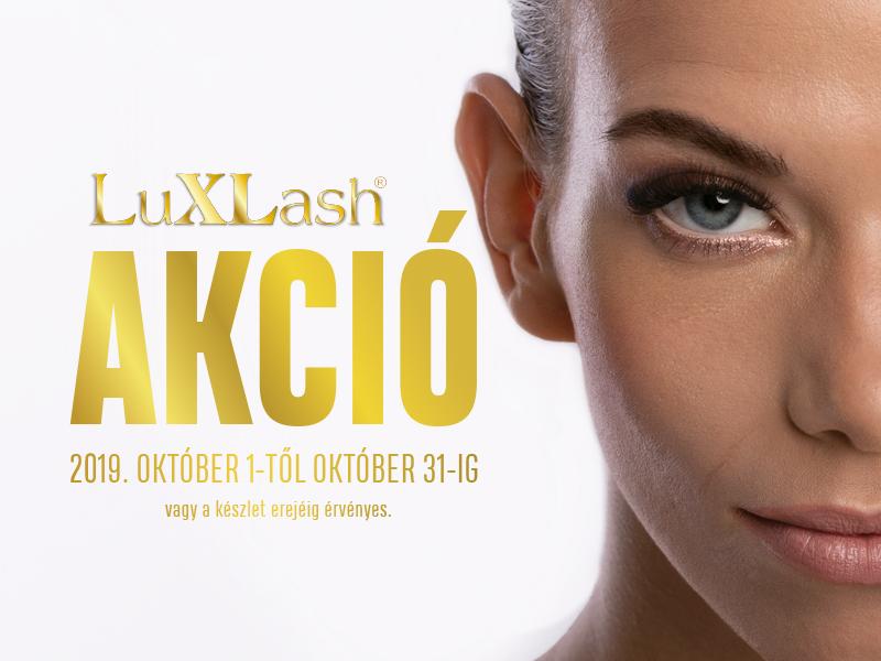 Luxlash havi akció október