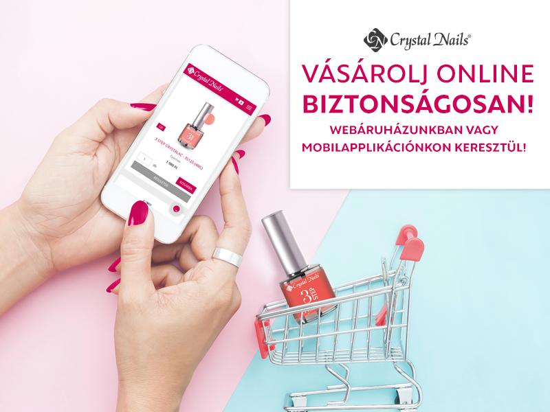 Vásárolj biztonságosan webáruházunkban vagy mobilapplikációnkon keresztül!