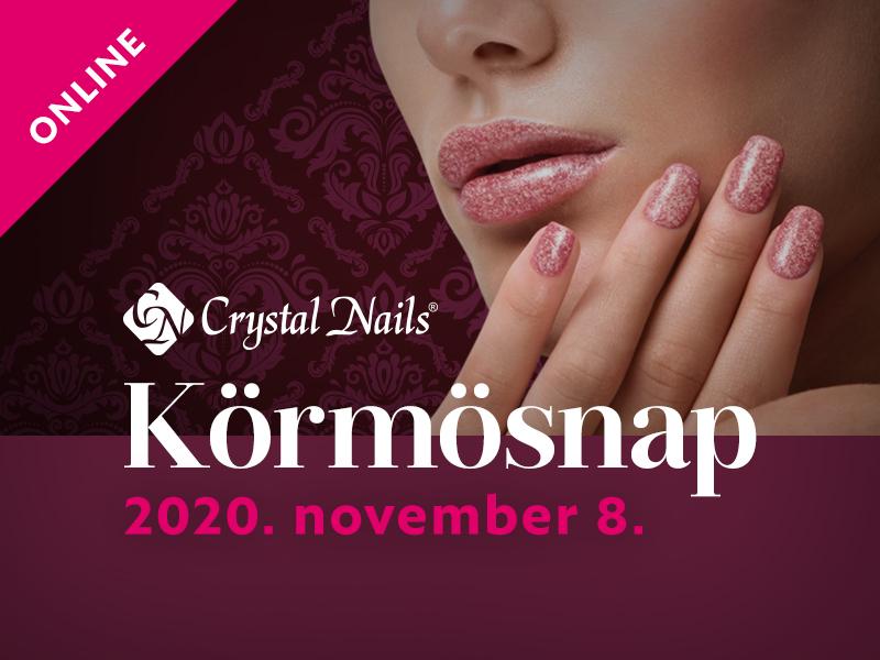 Crystal Nails Körmösnap 2020 Tél