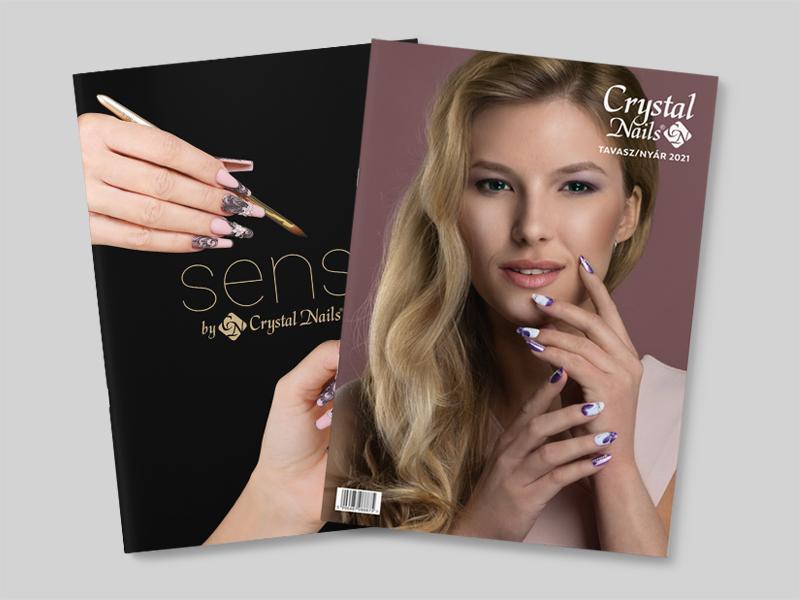 Crystal Nails és Sens by Crystal Nails 2021 Tavasz/Nyár katalógus