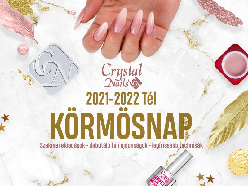 Crystal Nails Körmösnap 2021 Tél