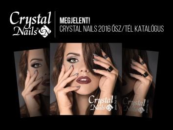 MEGJELENT! Crystal Nails 2016 ősz/tél katalógusa!