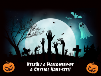 Készülj a Halloween-re a Crystal Nails-szel!