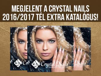 MEGJELENT! Crystal Nails 2016/2017 tél extra katalógusa!