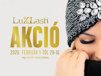 Luxlash havi akció február