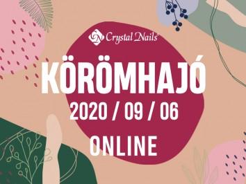 Crystal Nails Körömhajó 2020. Ősz