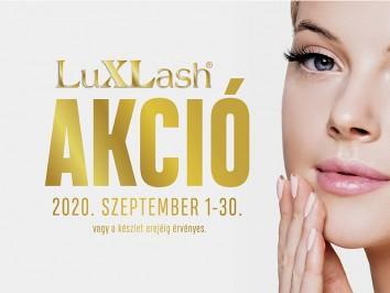 Luxlash szeptemberi akció
