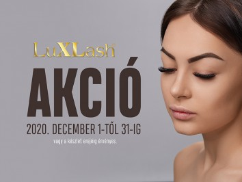Luxlash akció december