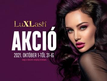 Luxlash októberi akció