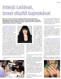 Nailpro - Interjú Leilával - 2009-10-14