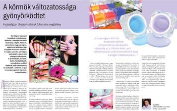Nailpro - A körmök változatossága gyönyörködt - 2010-12-06