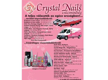 Crystal Nails - A teljes műkörmös választék az egész országban