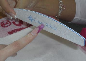 Formára reszelés 150-es Kék Crystal Xtreme reszelővel
