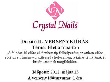 Hungarian Nail Cup - Díszítő II.