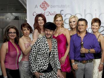 Szobrot kapott a Crystal Nails a Fashion Awards Hungary-n!